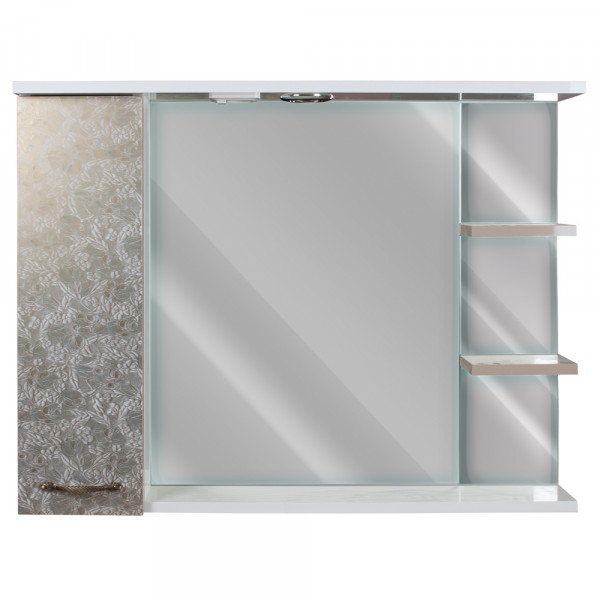 Зеркало для ванной 90 H Антик 619