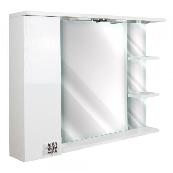 Oglinda pentru baie 85 H 3D WHITE