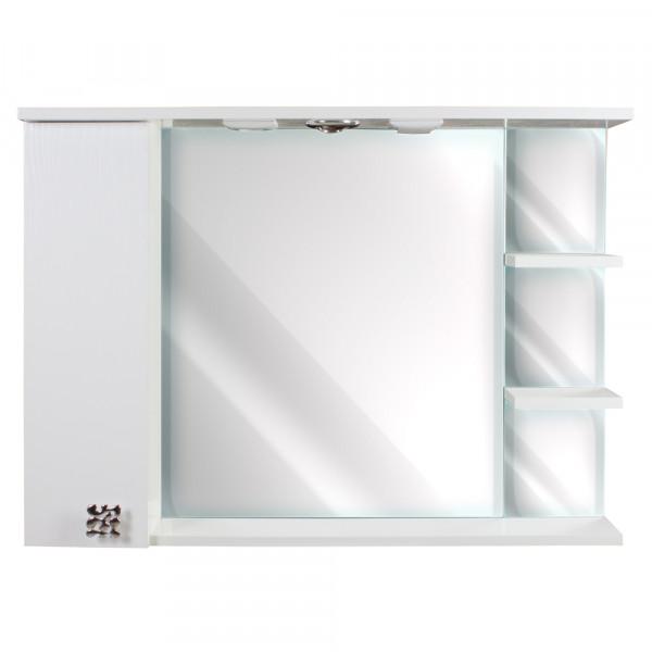 Oglinda pentru baie 95 H 3D WHITE