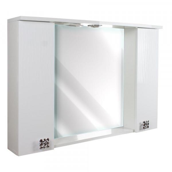 Зеркало для ванной 120 3D White