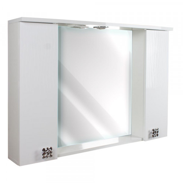 Oglinda pentru baie 120 3D White