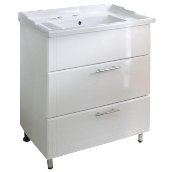 Мебель для ванной 6146 60 2Ш краш.