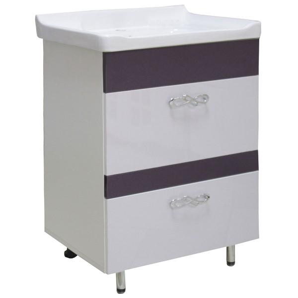 Мебель для ванной 3D-5450 60 2Ш 717+8001