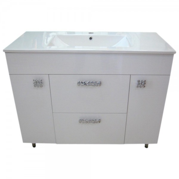 Mobila pentru baie 6029 3D White 100