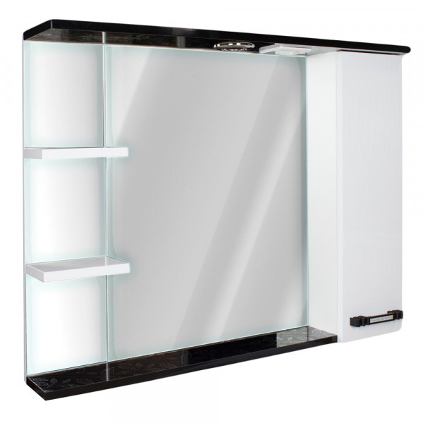 Oglinda pentru baie 85 3D White +575