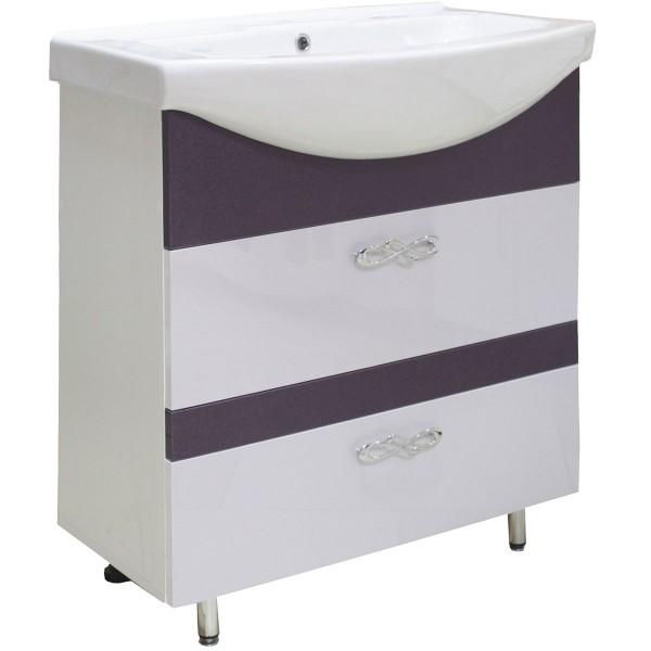 Мебель для ванной 3D-ИЗЕО 75 2Ш 717+8001