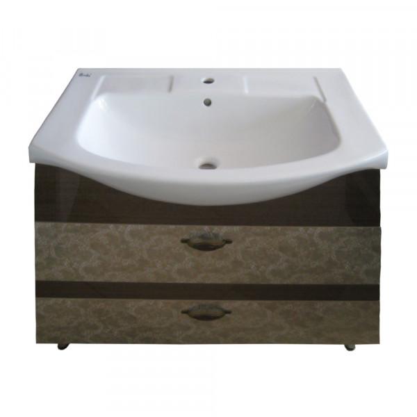 Мебель для ванной 3D-ИЗЕО 85 2Ш анти.1519