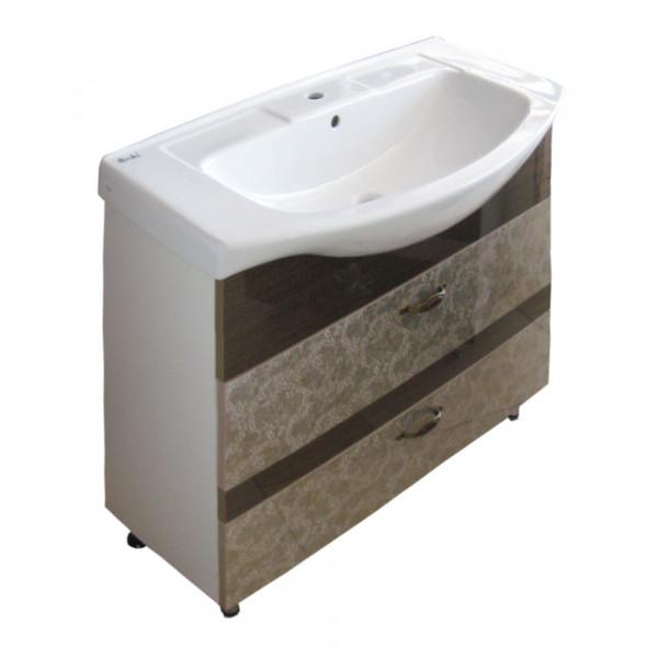 Mobila pentru baie 3D-IZEO 95 2S anti.1519