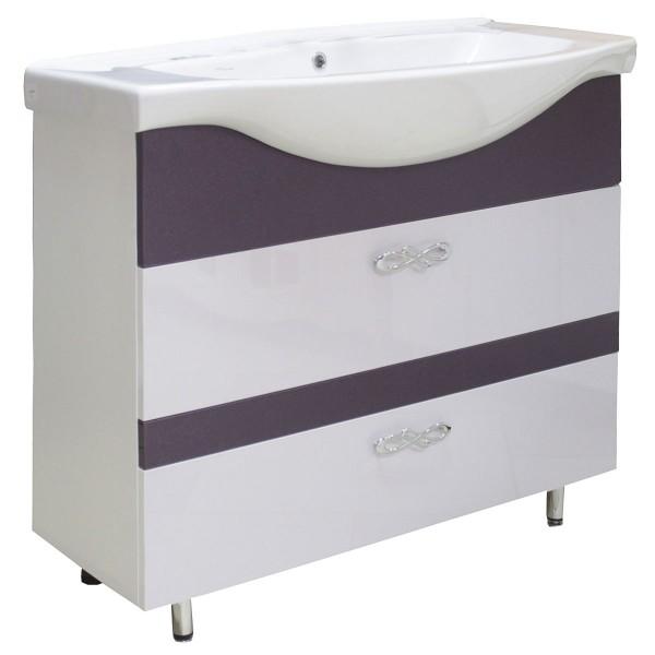 Мебель для ванной 3D-ИЗЕО 95 2Ш 717+8001