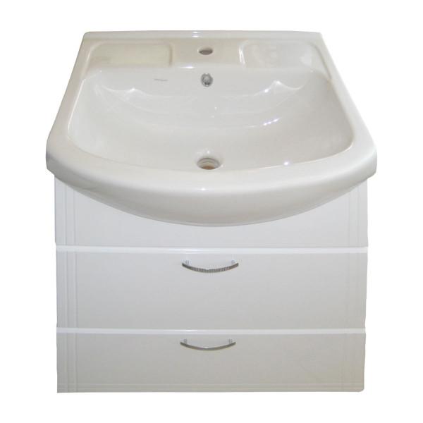 Мебель для ванной ИЗЕО 75 2Ш крашенная