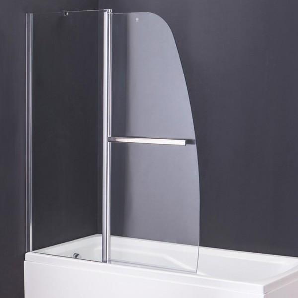 Шторка для ванной стеклянная 120см