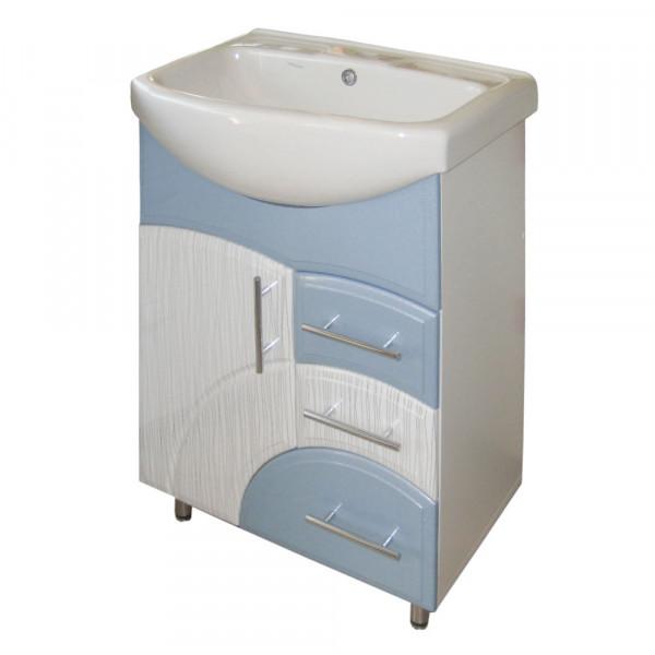 Мебель для ванной ЦВ ИЗЕО 55 N1 пленка голубой
