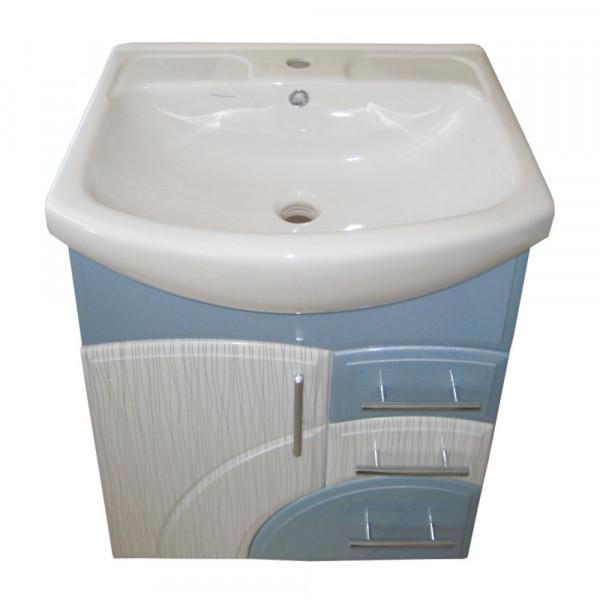 Мебель для ванной ЦВ ИЗЕО 65 N1 пленка голубой