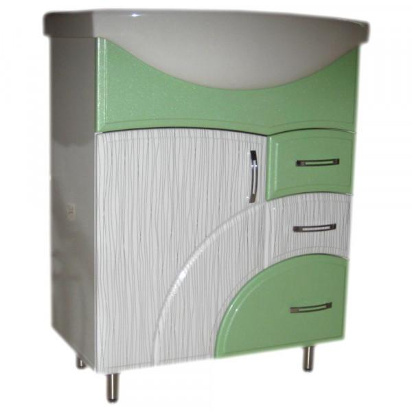 Mobila pentru baie Color IZEO 55 N1 pelicula verde deschis