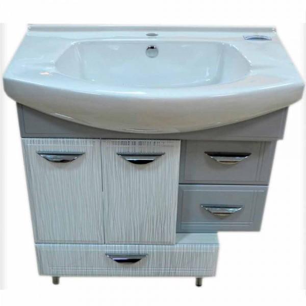 Mobila pentru baia serie TV186 Model dulap D